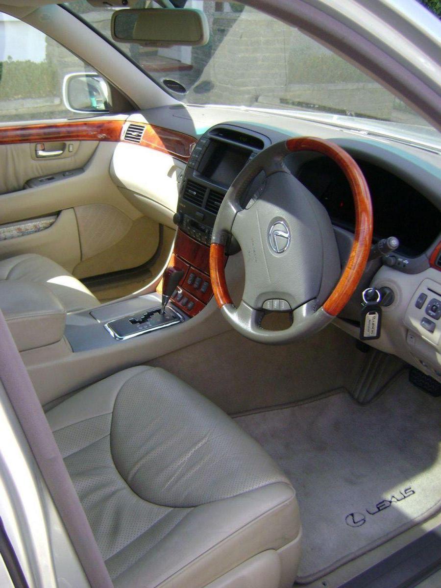 LS430 interior