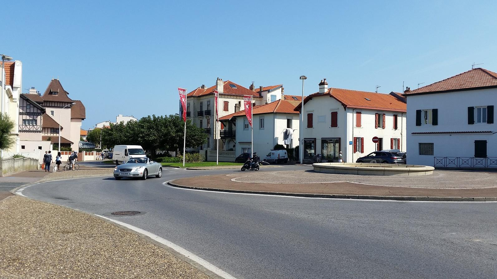 On The front At Biarritz