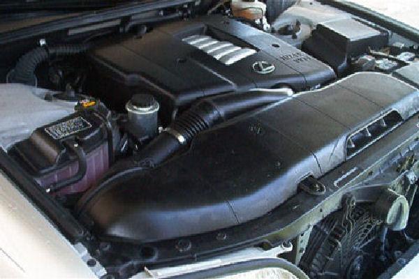 Under the hood.