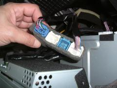 sat nav display connectors