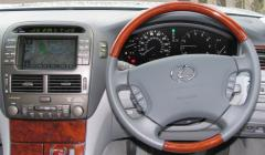 LS 430 console and steering wheel