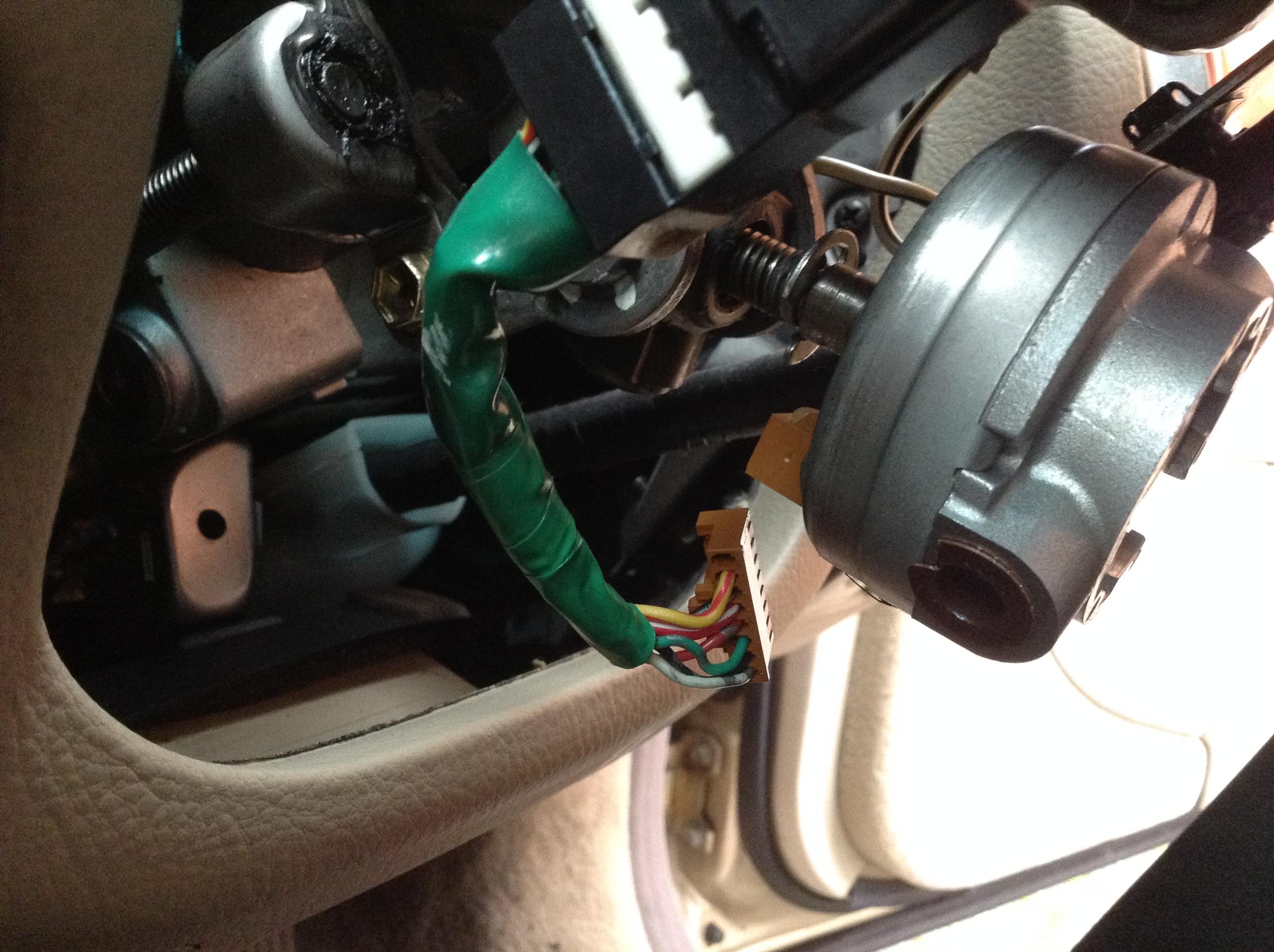 Steering auto reset - LS 400 / Lexus LS 430 / Lexus LS 460