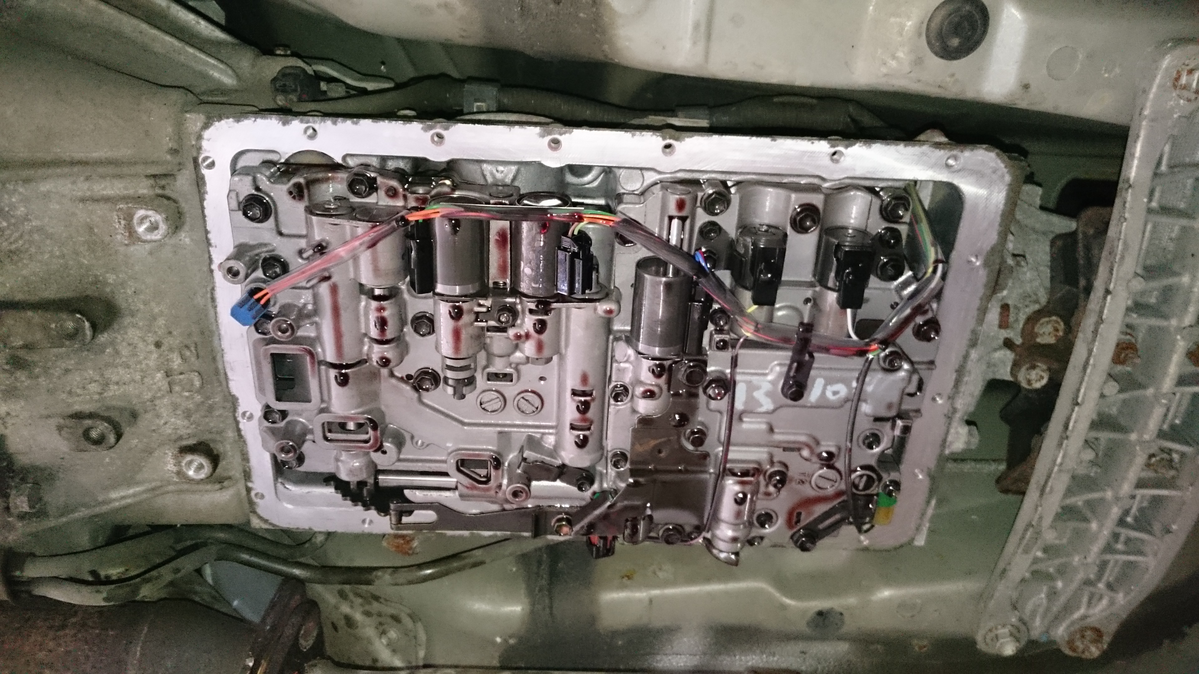 Is300 Auto Gearbox A650E Oil Change Info Needed - Engine