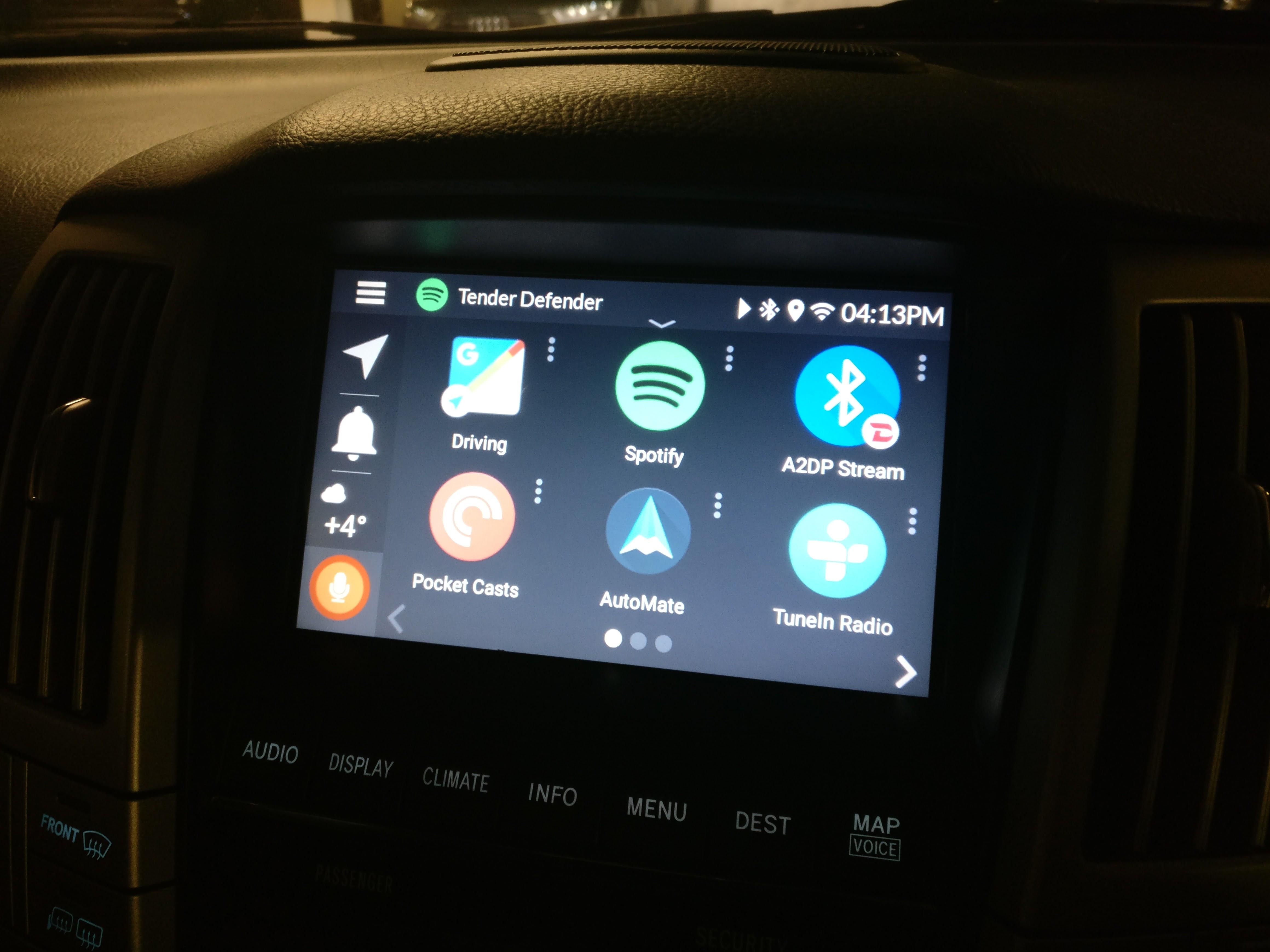 Grom Vline - Android/CarPlay Infotainment Upgrade - RX 300