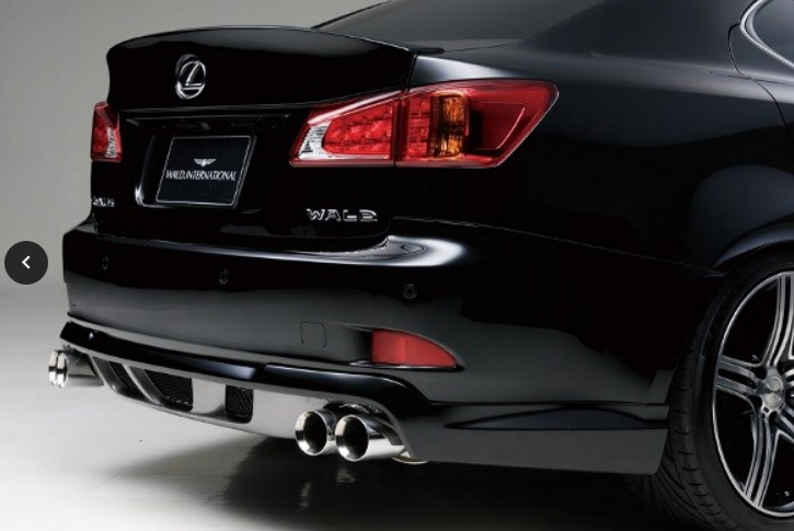 Lexus IS250 2008-2010 WALD rear lip.png