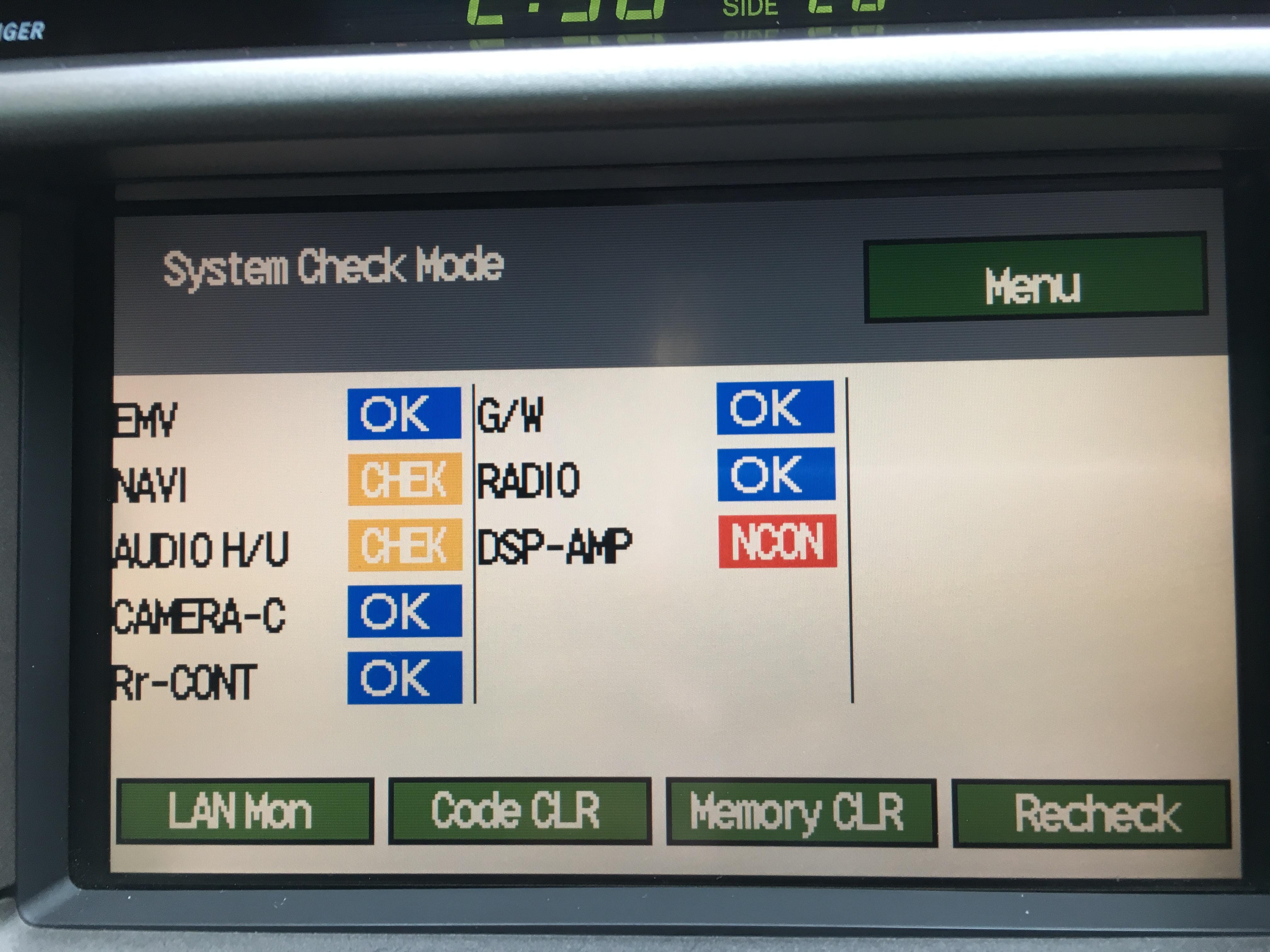 Lexus LS430 No Sound from Audio - Amplifier OK - LS 400 / Lexus LS