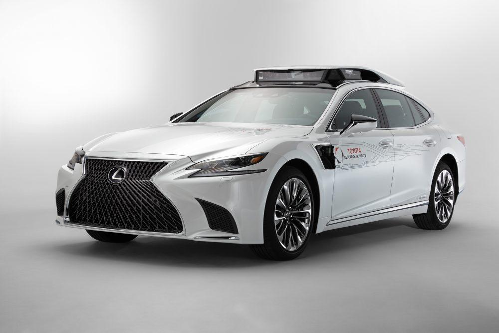 Lexus LS P4 Automated Driving Test Vehicle at CES